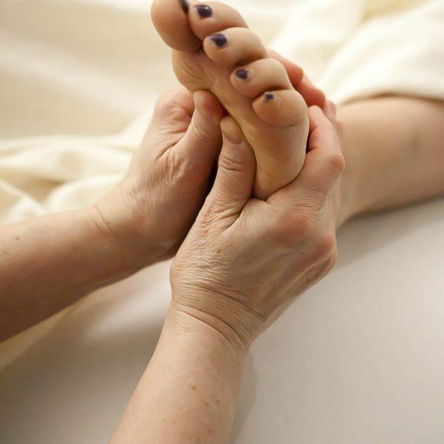 massage main pied valdor